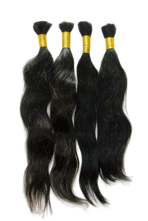 Human Remy Hair Extensions Bulk Remy Indian Hair